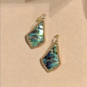 Kendra Scott Abalone Shell Earrings